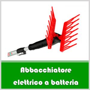 abbacchiatore elettrico a batteria