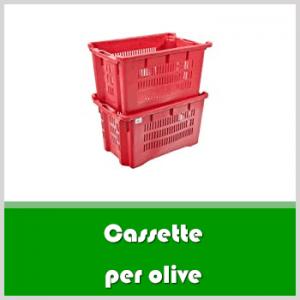 Cassette per olive: guida alla scelta